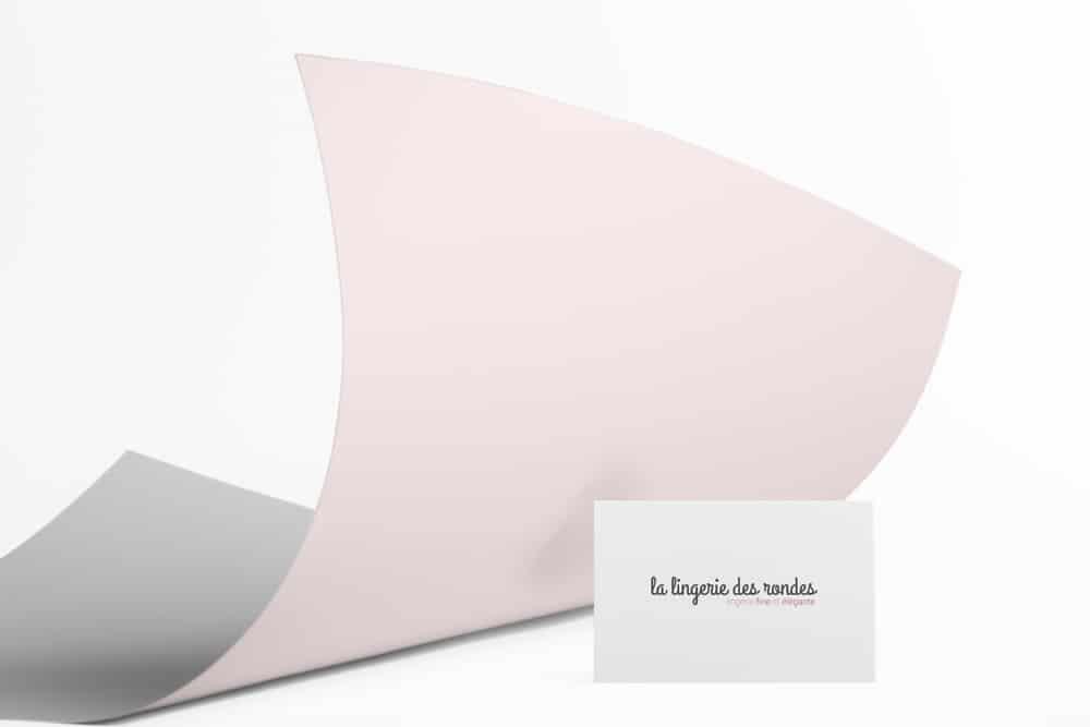Création carte de visite Lille La lingerie des rondes 3