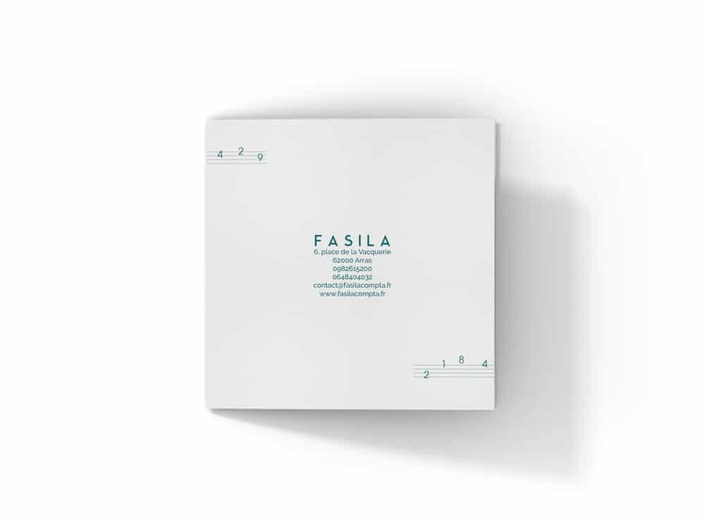 Création plaquette commerciale Lille FASILA