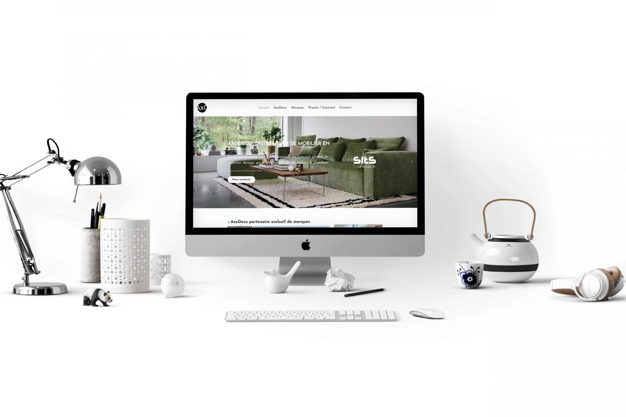 Refonte site vitrine Lille Axodeco