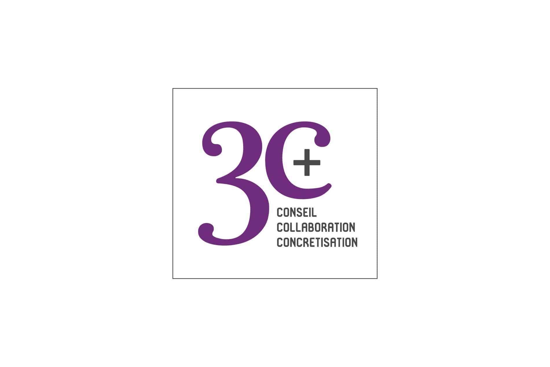 Création logo lille 3C+