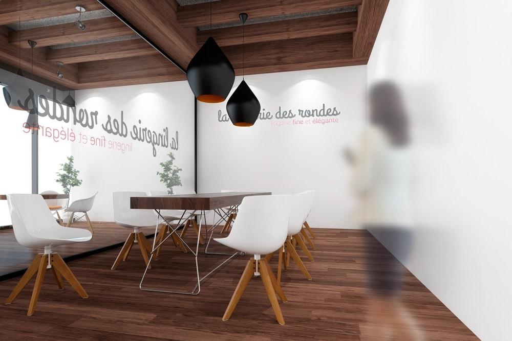 Création Logo Lille Lingerie Des Rondes