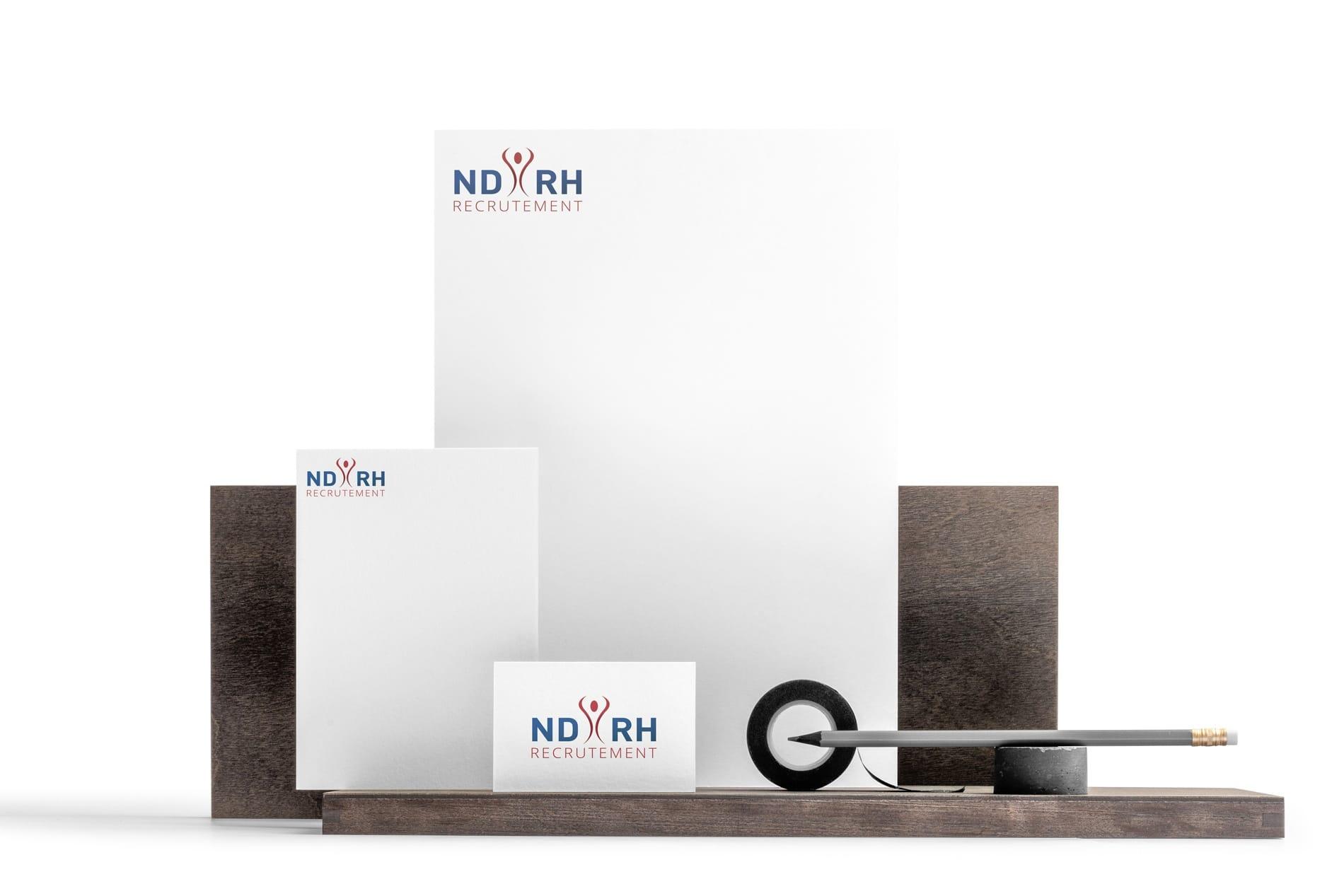 Création logo lille NDRH