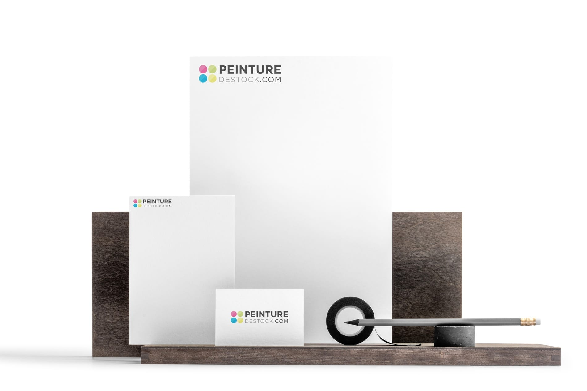 Création logo lille Peinture Destock