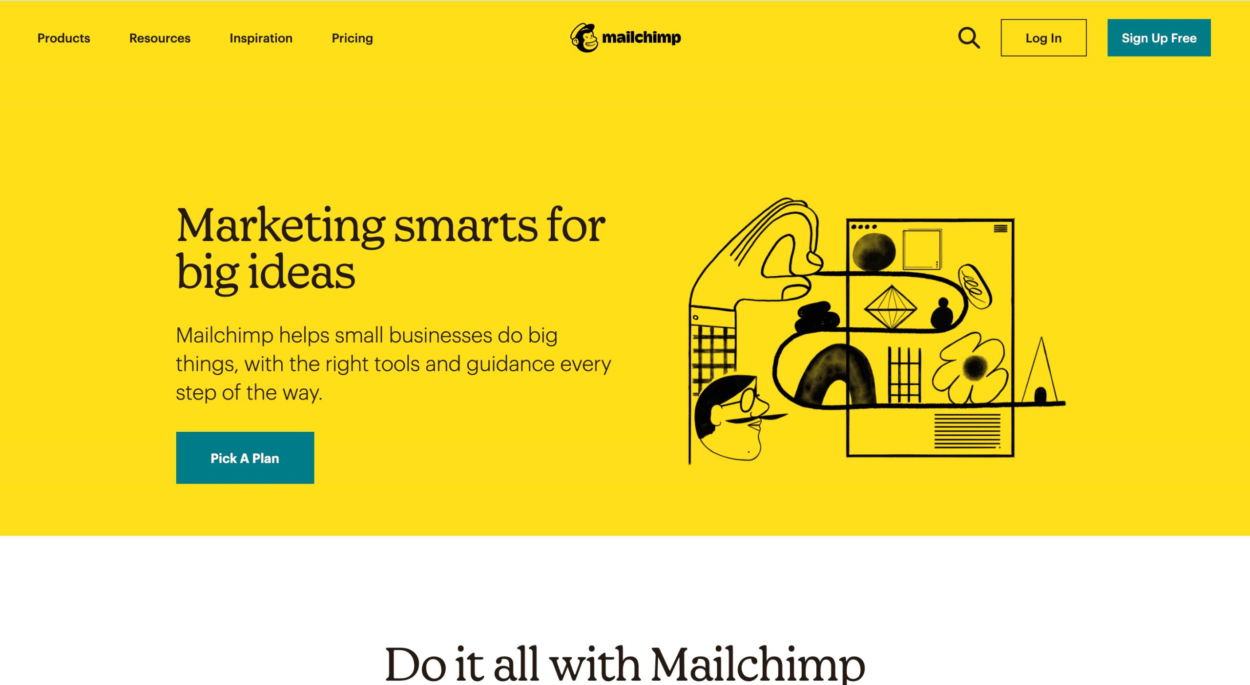 Mailchimp outil emailing