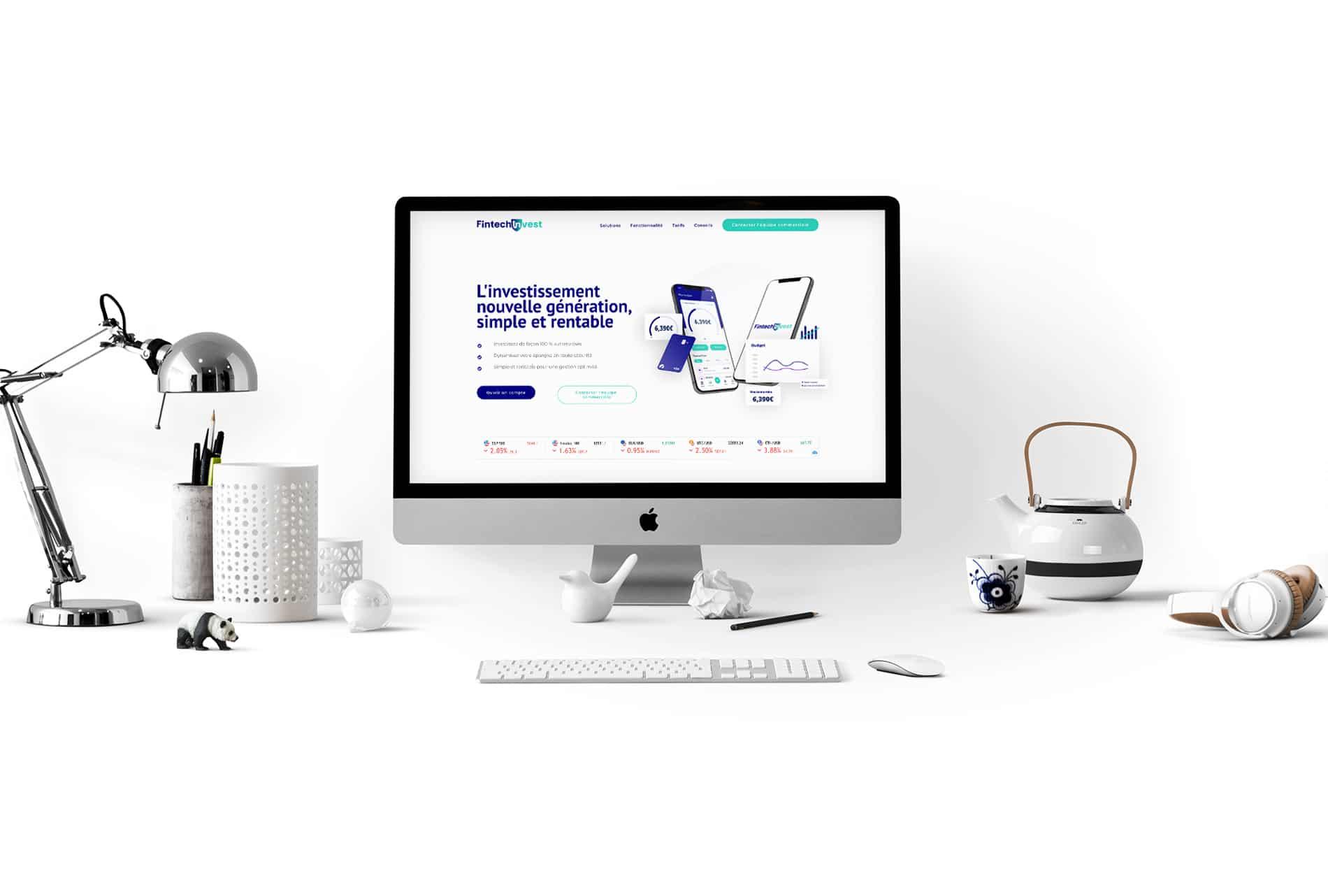 desktop Fintech Invest