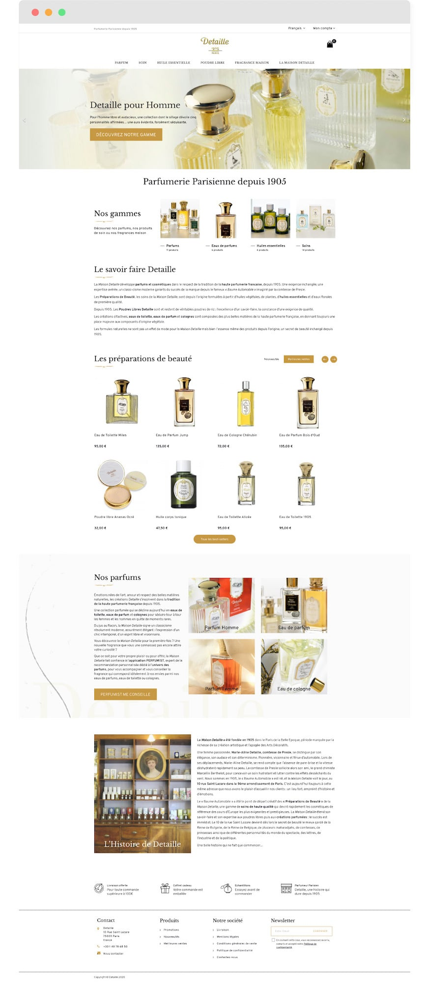 detaille-home-page