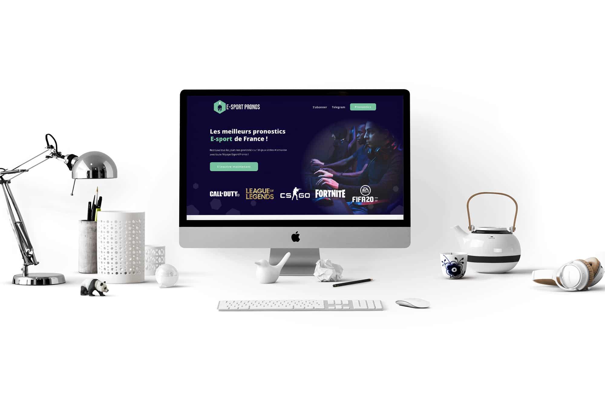 Desktop E-sport Pronos