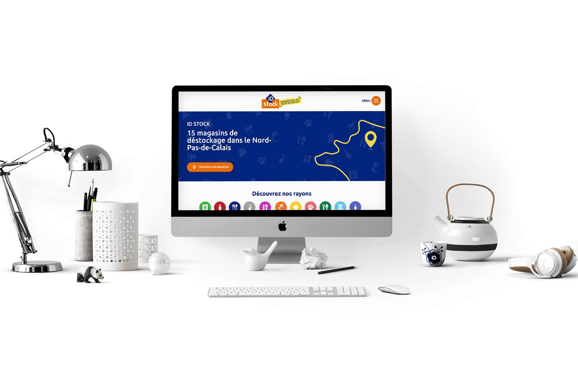 ID Stock référence site catalogue