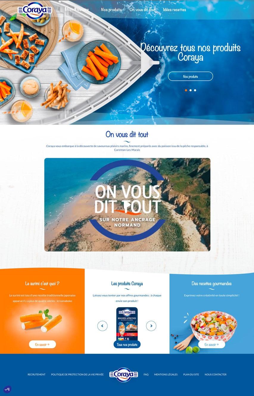 home page coraya